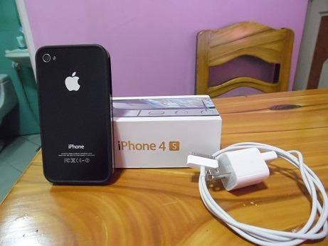 IPhone 4s Latest iOS 7 Color Black 16GB Apple Original photo