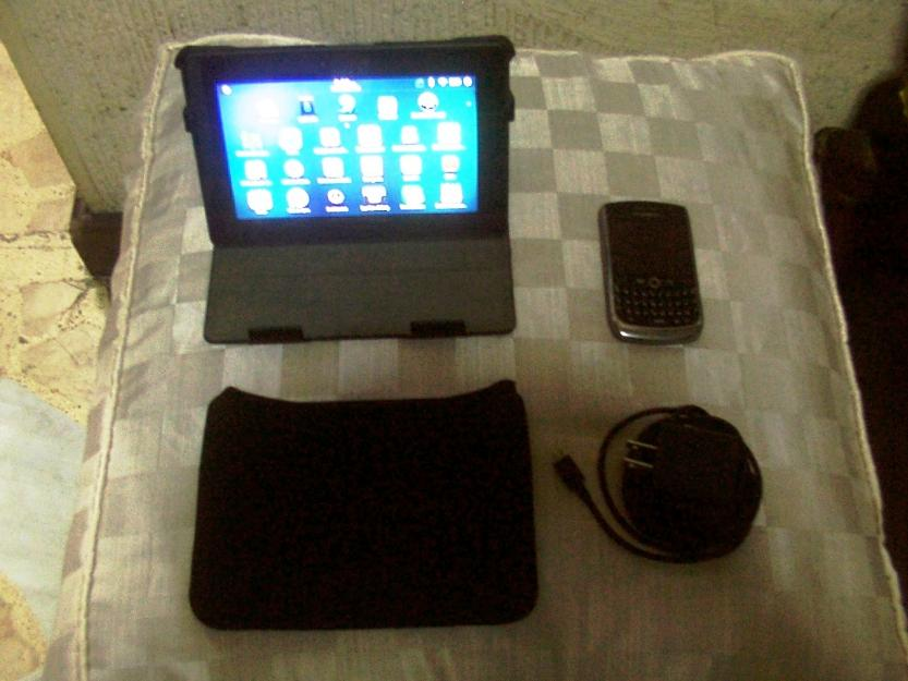 64 GB Blackberry Playbook Tablet with BB 8900 Cellphone photo
