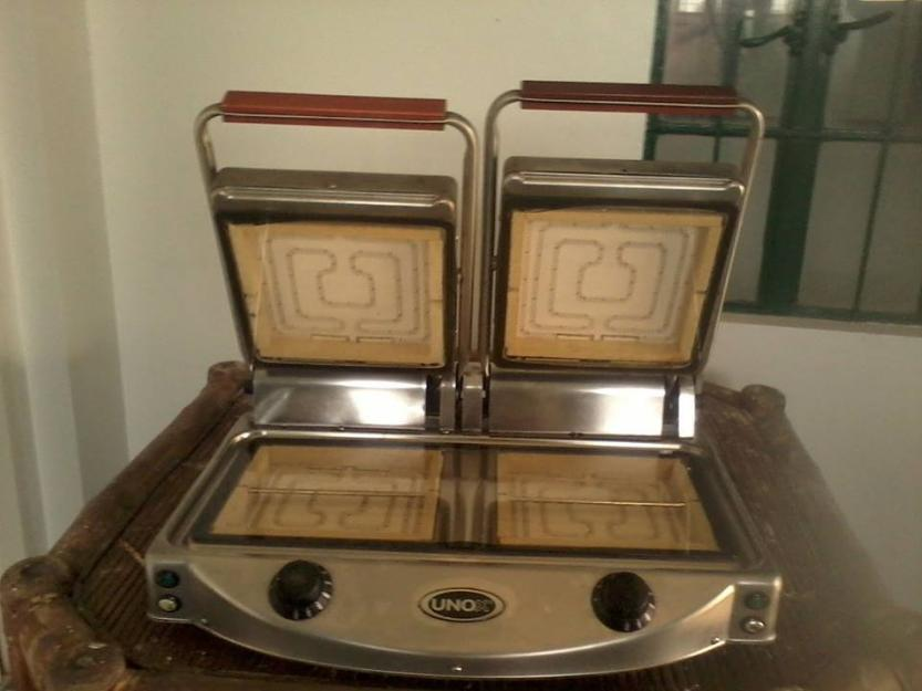 kitchen double electric grill photo