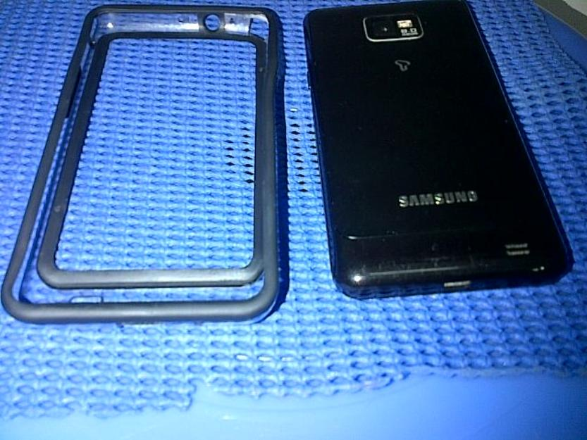 black galaxy S2 i9100 photo