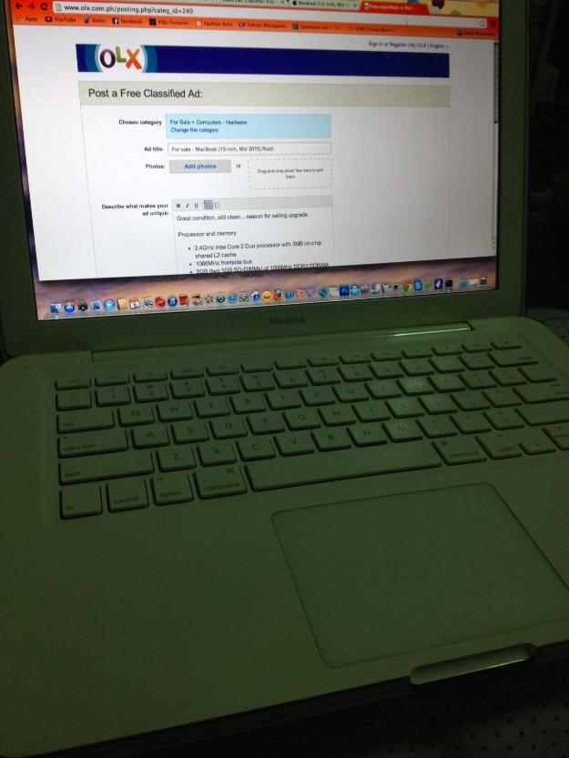 MacBook (13-inch, Mid 2010) photo