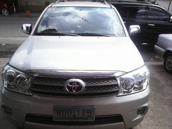 Toyota Fortuner 2008 photo
