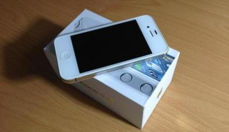 apple Iphone 4s white 16gb photo
