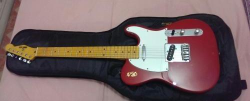 Red RJ Telecaster (heavy relic) photo