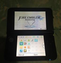Nintendo 3ds xl black photo