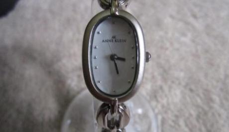 Authentic New Anne Klein Silvertone Casual Women S Watch photo