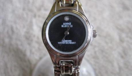 Authentic Anne Klein 2 Silvertone Diamond Women's Watch photo