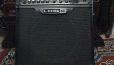 Guitar amp photo