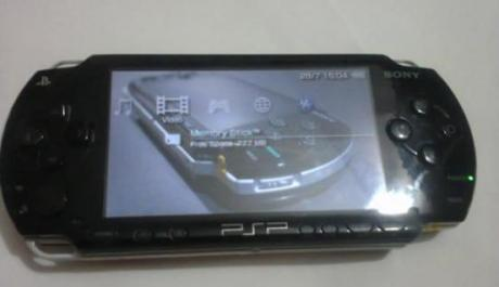 Psp fat black photo