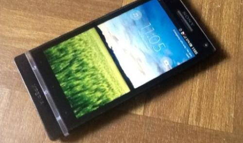 Sony xperia s black 32gb photo