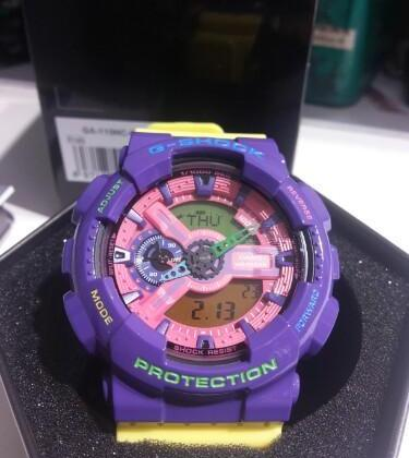 Gshock G-shock Fruit Salad Ga110hc-6 photo