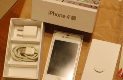 Apple iPhone 4s 16GB White photo
