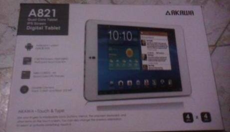 Akawa A821 Quad Core Tablet photo
