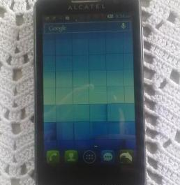 Alcatel Soleil with flappy bird photo