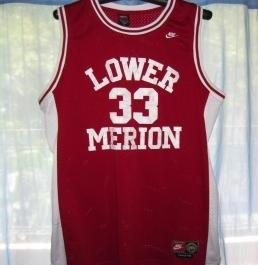 Nike Kobe Byant Lower Merion Away Jersey photo