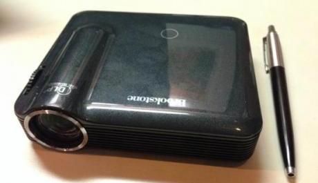 Brookstone Pocket Projector Pro HD 200 Lumens photo