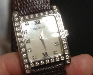 Paul Picot Diamond Watch, Mother of Pearl Dial, Authentic photo