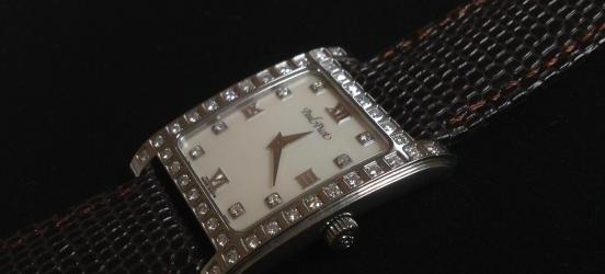 Paul Picot Diamond Watch, Mother of Pearl Dial, Authentic image 2