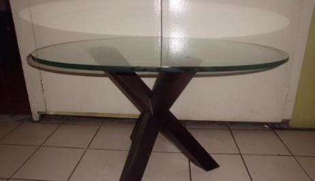 Glass Top Center Table photo