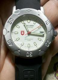 swiss army divers watch photo