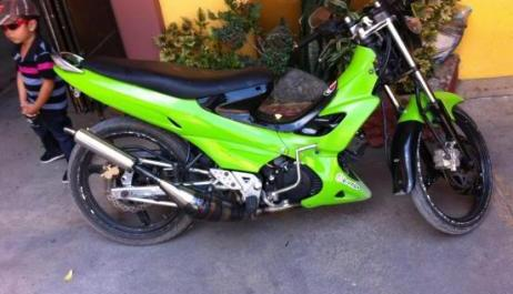 Kawasaki Leo star green 2004 photo