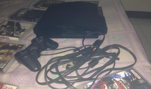 PS3 Slim 150gb With 11 Latest Games (Bundled) photo