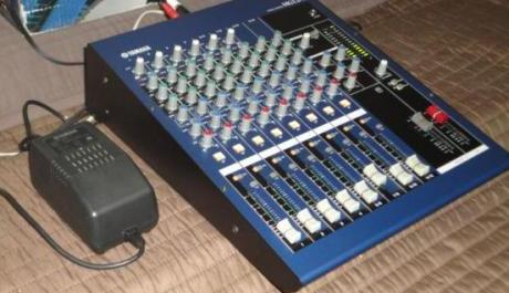 Yamaha MG12-4 mixing console 12channel input photo