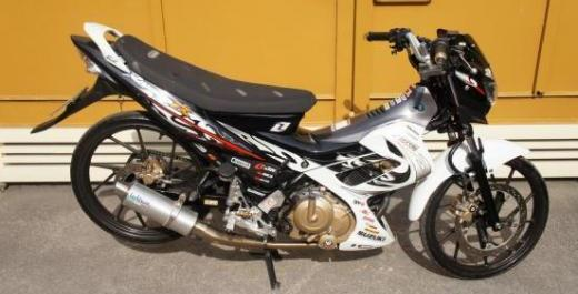 Suzuki Raider 150 New Breed Tribal 2011 Model photo