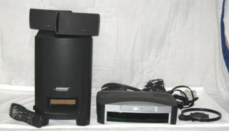 Bose 321 DVD Home Theater System 220volts photo