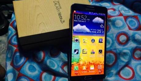 samsung galaxy note3 N9005 LTE kitkat 4.4.2 photo