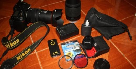 Nikon D90 Dslr Camera complete photo