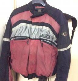 Komine Sports Touring Jacket with armour inside photo