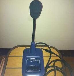 victor mv-p358m desktop stand microphone with chime photo