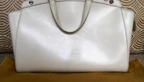 Louis Vuitton Brea in Ivoire Epi mm 2010 with Dust Bag photo