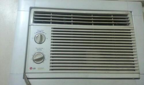 Aircon LG GOLD room Air Conditioner .75 HP photo