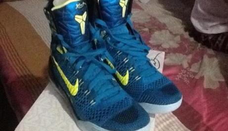 Kobe 9 perspective shoe photo