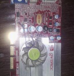 Nvidia GeForce F5600 256mb 128bit AGP videocard photo