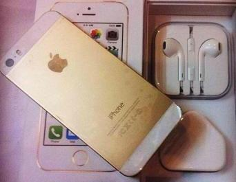 Apple iPhone 5S Gold 16GB photo
