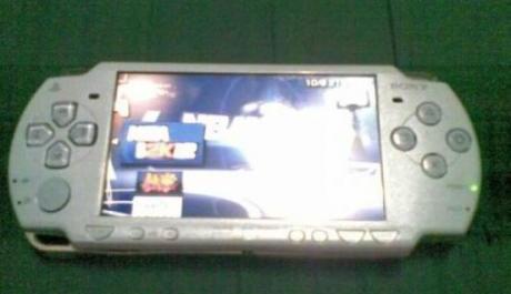 sony psp 2001 sky blue photo