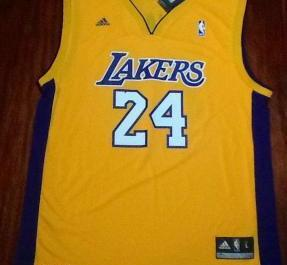 Adidas Lakers kobe Bryant Jersey photo