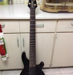 Fernandez six string bass guitar photo
