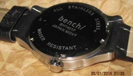 bench leather watch not fossil suunto nautica image 4