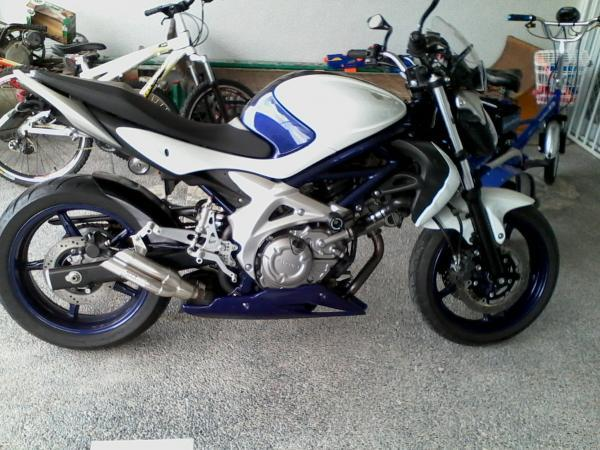Suzuki Gladius 2010 Motorcycle photo
