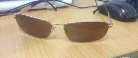 Police Polarized shades photo