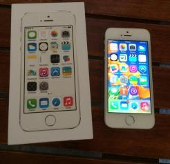 apple iphone 5s white 16gb photo