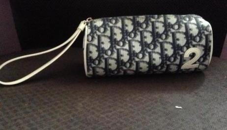 Authentic Christian Dior monogram wristlet pouch photo