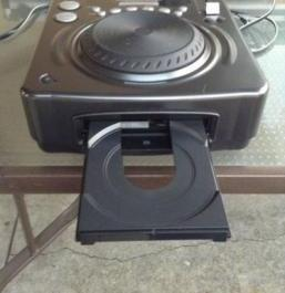 American Audio Dj Cdi-300 Mp3 Pro System DJ Scratch photo