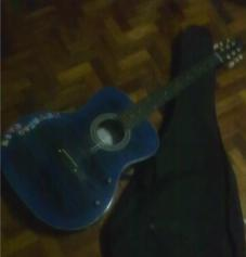 Acoustic Guitar with cloth case RUSH photo