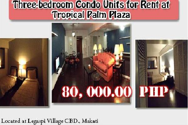 Three-bedroom Condo Unit for Rent at Makati City Philippines photo