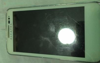 Alcatel One Touch Soleil White unit only photo